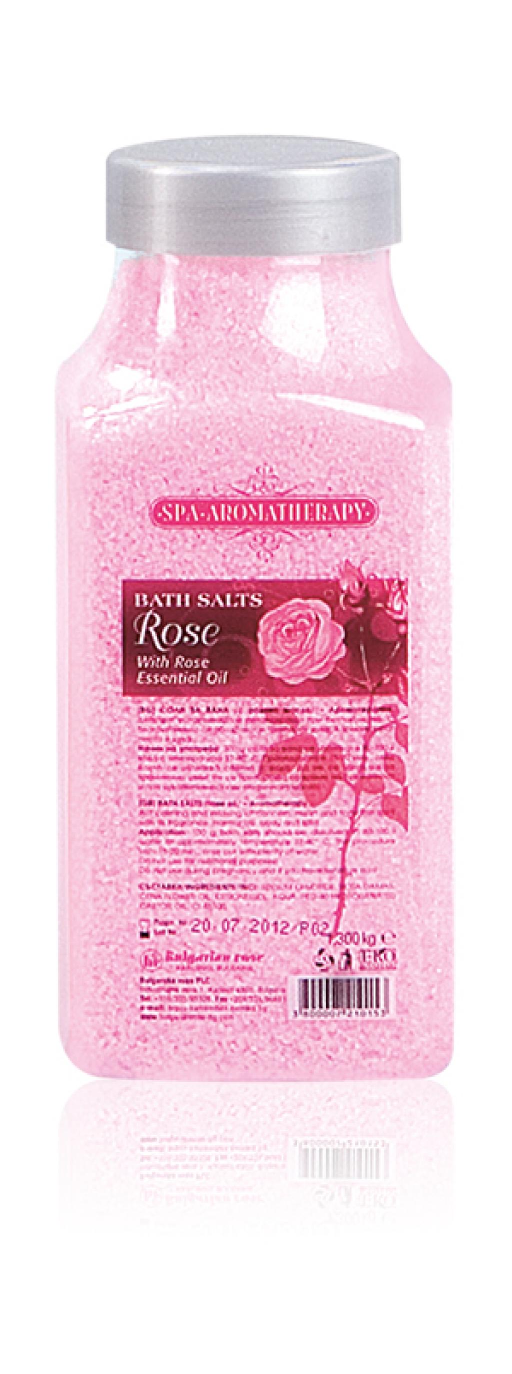 Bulgarian Bath Salts Rose - 440 g