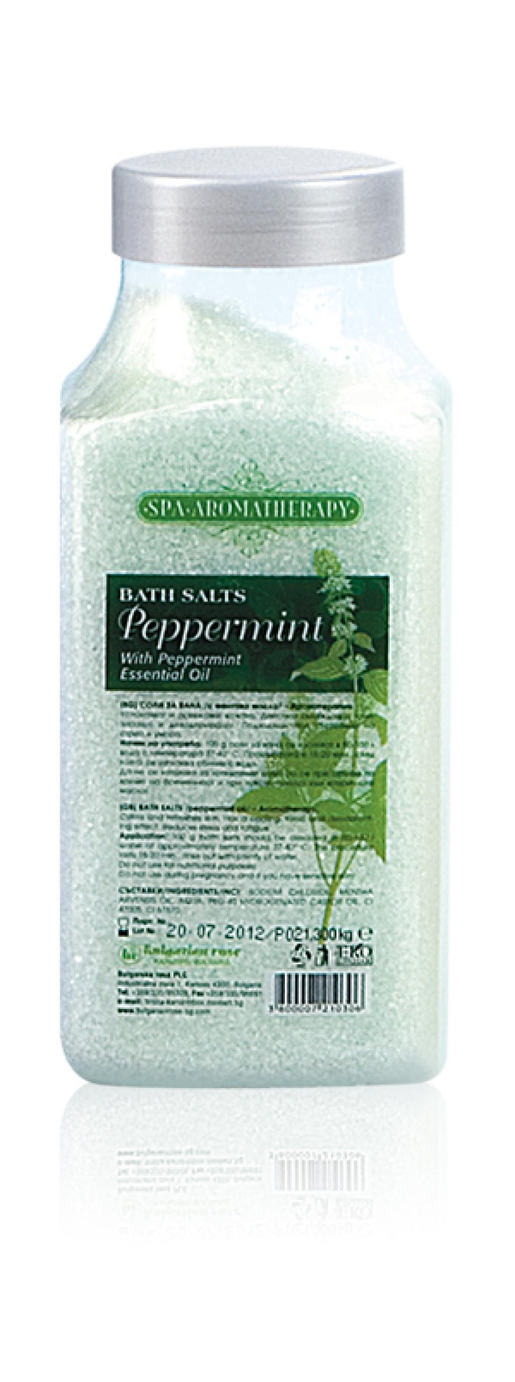 Bulgarian Bath Salts Peppermint - 440 g