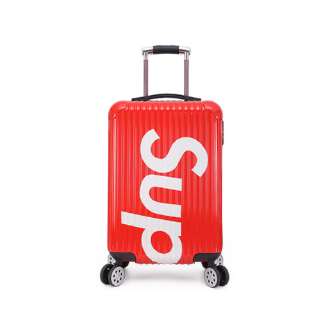 "SUP 20""Inch Scratch-proof Mute Caster Wheel Zipper Trolley Suitcase Luggage (SUPSIP-R)"