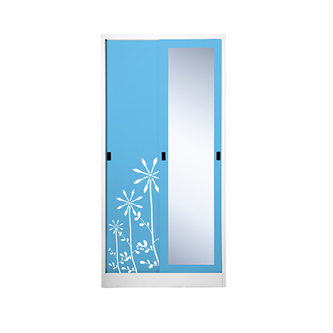 KIOSK One Mirror Sliding Door Wardrobe ( SXW-18/I )