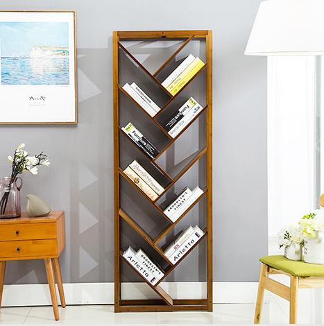 NICCO Bamboo V Style Shelf ( BSB-03 )