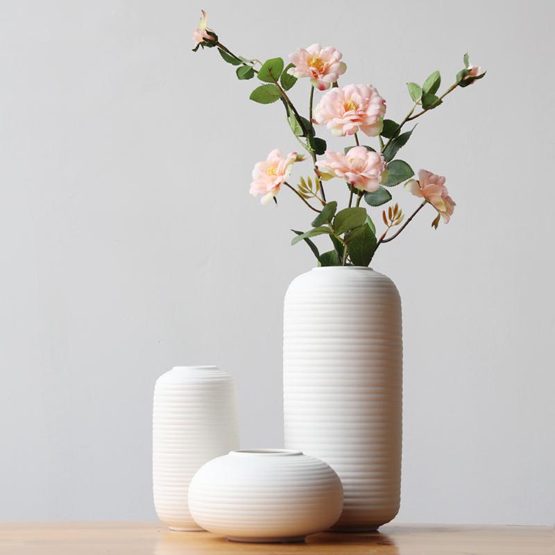 NICCO 3 Pieces Pure Ceramic Vase ( VSC-01 )