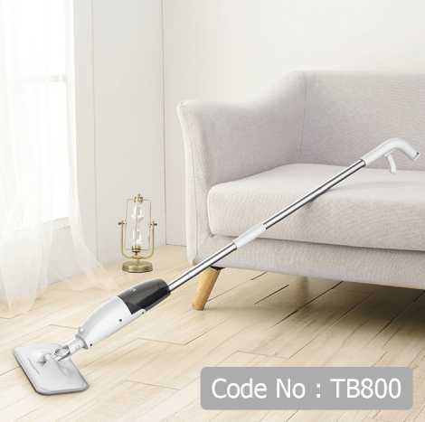 DEERMA WET & DRY HANDS-FREE STEAM SPRAY LAZY MOP (TB800)