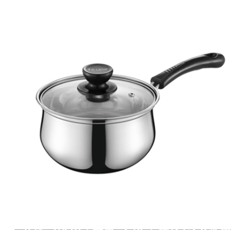 TILUCK 304 Stainless Steel 16CM /2 Liter Cooking Milk Pot (TG3D16)