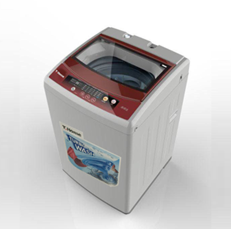 T Home 7 kg Fully Type (Red) Washing Machine (TH-WF70S1809GR)