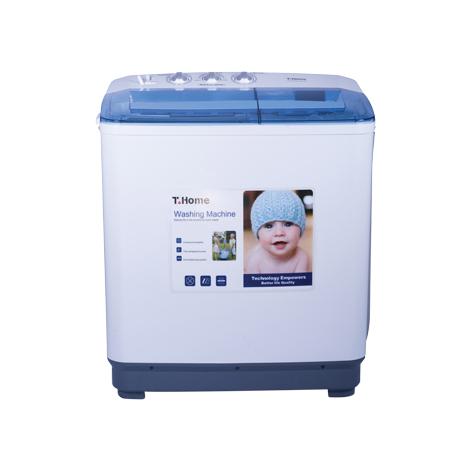 T.Home 10 kg Semi Type Washing Machine (TH-WT100P112M)