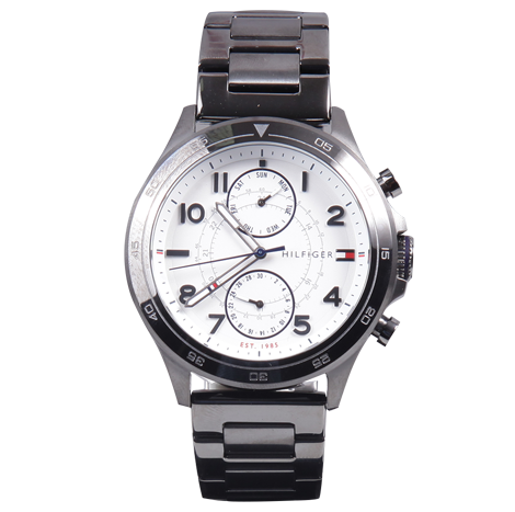 HBT Tommy Hilfiger Steel Black Male Watch (TH1791341-00-M)