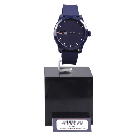 HBT Tommy Hilfiger Rubber Male Watch (TH1791381-00-M)