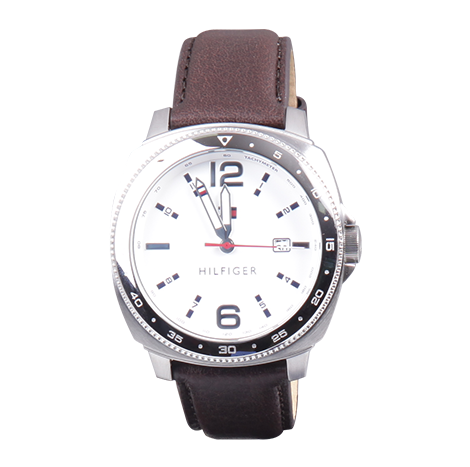 HBT Tommy Hilfiger Leather Male Watch (TH1791432-00-M)