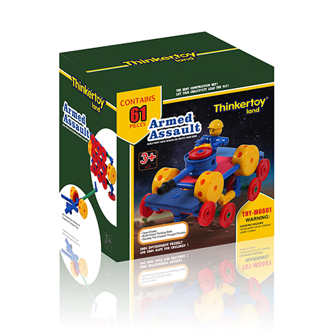 Educational Thinker Toy Armed Assault (Thy- M 6601 )
