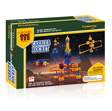Educational Thinker Toy Carrier Rocket (Thy- M 6603)