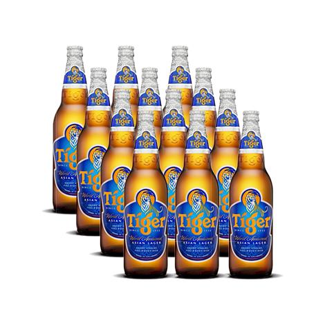 Tiger Beer Bottle 640ml (12 bottles per Case )
