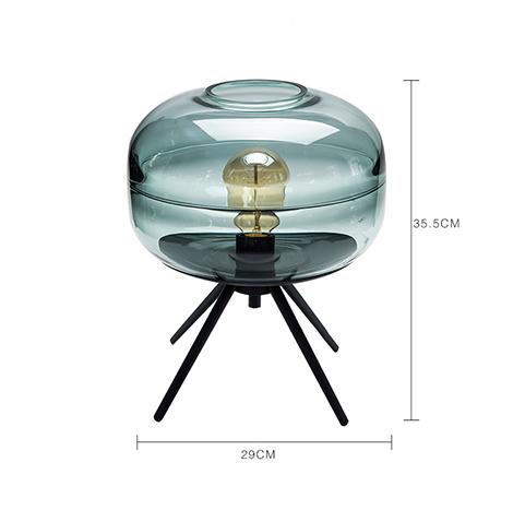 NICCO Transparent Glass Table Lamp ( TLP-03 )
