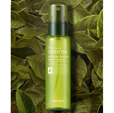 TonyMoly The ChokChok Green Tea Mild Watery Micro Mist 90ml (TMS-02)