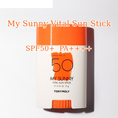 TonyMoly My Sunny Vital Sun Stick SPF50+ PA++++ 21g (TMS-14)