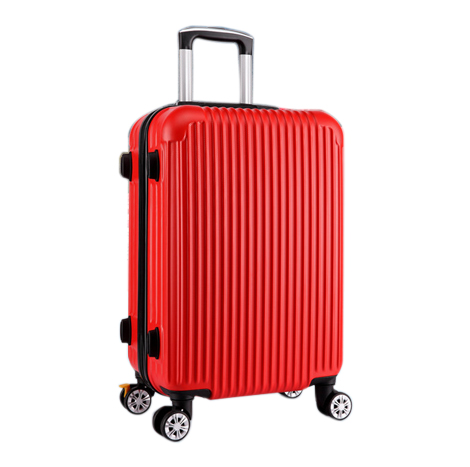ABS Classic Striped 22 Inch Trolley Luggage Suitcase (TSC806)