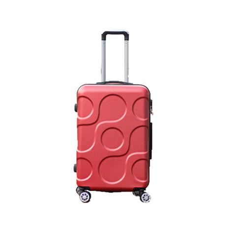 Korean Abs 360 Universal Wheel Password Lock Luggage Trolley (TSC888)
