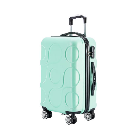 Korean Abs 360 Universal Wheel Password Lock Luggage Trolley 20 Inches (TSC888)