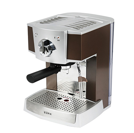 EUPA Pump PressureType Semi Automatic Coffee Machine Brown ( TSK-1152A )