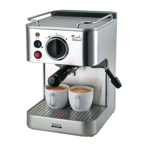 EUPA Pump Pressure Type Semi Automatic Coffee Machine ( TSK-1819A )