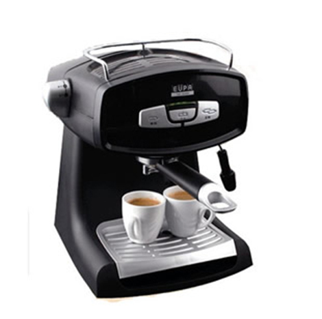 EUPA Pump Pressure Type Semi Automatic Coffee Machine Black ( TSK-1826B4 )