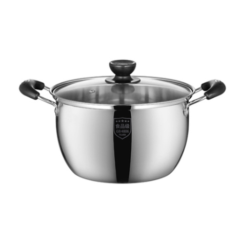 TILUCK 201 Stainless Steel 20CM /2.4 Liter Cooking Soup Pot (TU1S20)