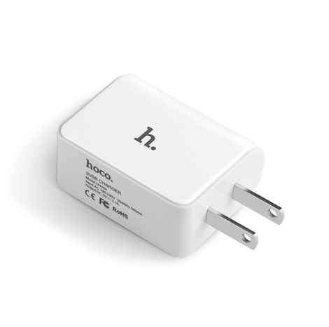 Hoco UH204 Dual USB 3.1A Wall Charger