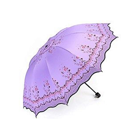 First Place Umbrella (Lotus Leaf Lace) Purple