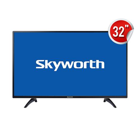"SKYWORTH 32"" LED TV (32W4) Black"