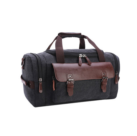 Korean Leisure Canvas Travel Luggage Bag (FB8830)