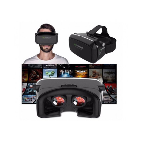 Harrier VR Box With Remote Control (Black Edition)
