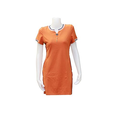 VKK Short Sleeve Tee Shirt Dress ( QL363349 )