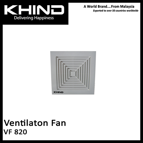 KHIND 8 Inch Ventilation Fan ( VF 820 )