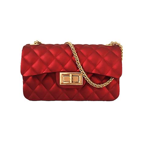 Louis Myanmar China Bag Red