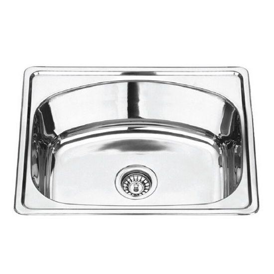 Teka VIVA801B1D Inset Sink (1 Bowl, 1 Drainer)