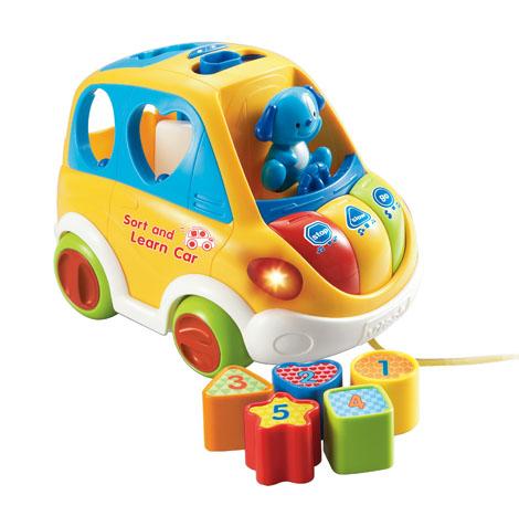 Vtech Sort & Learn Car (BBVTF70103) (1 Pcs)
