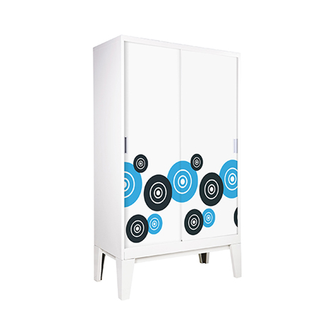 KIOSK Single Door Wardrobe - High ( WDC-05Ks )