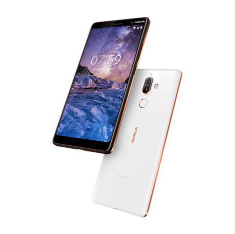 NOKIA 7 Plus (4GB/64GB) ( TA-1046 ) - White Copper
