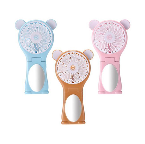 WK Bear Mirror Folding Electric Fan (WT-F9)