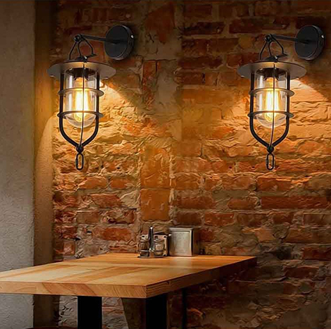 NICCO Vintage Style Wall lamp ( WLP-02 )