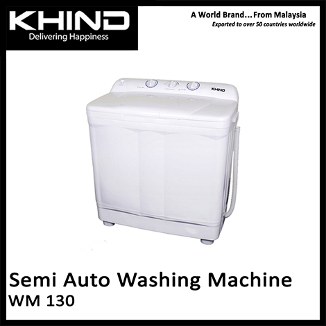 KHIND Semi Auto Washing Machine ( WM 130 )