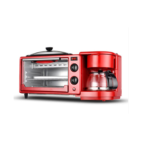 Automatic 3-in-1 Multi-function 9L Electric Breakfast Machine Baking Coffee Toaster (XD9L)