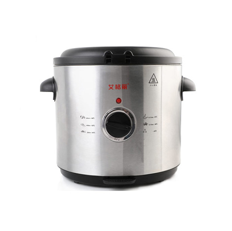 AIGOLI Round Thermostatic Multi-function 1.5 Liter Split Electric Fryer (XJ-7k115)