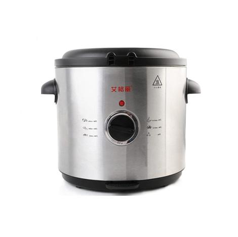 AIGOLI Round Thermostatic Multi-function 1.5 Liter Split Electric Fryer (XJ-7k115)