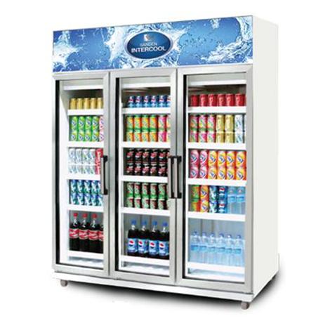 Sanden Intercool 1500L 3 Door Freezer ( YPM-180P)