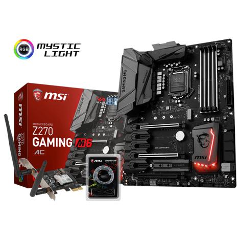 MSI Z270 GAMING M6 AC Moherboard (Intel® Z270 Chipset)